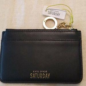 NWT Kate Spade Saturday card and coin purse